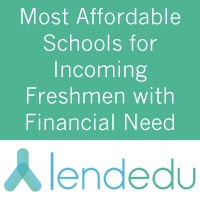 Rankings - LendEDU Most Affordable Colleges
