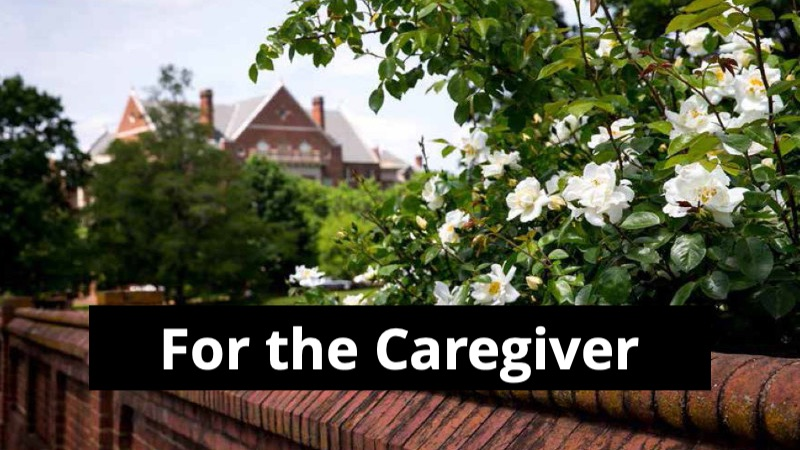 For the Caregiver