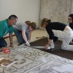 Restoring mosaic in the CCA lab