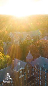 Instagram Story - Phone Background = Randolph College - Scenes - Autumn Glow