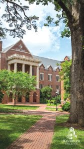Instagram Story - Phone Background = Randolph College - Scenes - Smith Hall