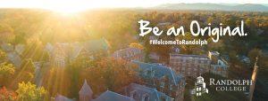 Facebook Background = Randolph College - Scenes - Autumn Glow