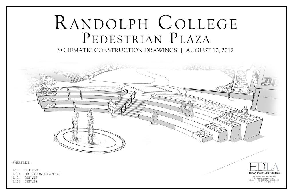 Plaza drawing