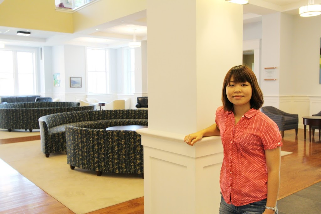 Tsuabasa Watanabe '14 focused her independent study and a Summer Research project on Randolph's Student Center.