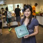 Hailey Nguyen green thread to go to-go boxes for the dining hall