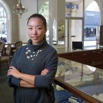Shuang Li works at Bowen Jewelers in Lynchburg
