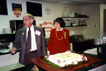 When Carl Stern retired in 1992, he and his wife, Charlotte, were honored with a celebration in the Skeller, then a student-run snack bar he had helped start decades earlier.