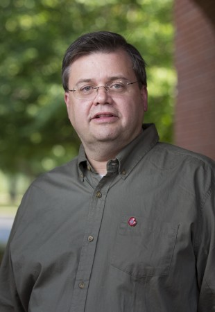 Gerry Sherayko, associate professor of history