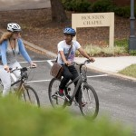 College owned bicycles are available to students to get around town or ride the local trails.