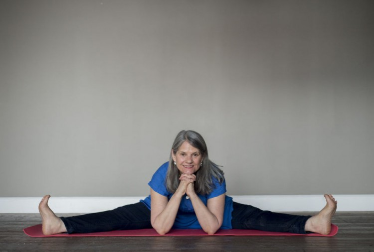 Cyndi Lee opens her Yoga Goodness studio in Lynchburg.  (Photo by Jill Nance, courtesy of The News & Advance.)