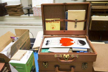 A case containing a Standford-Binet childhood intelligence test from the mid-1900's.