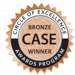 CASE Circle of Excellence Bronze Award Winner