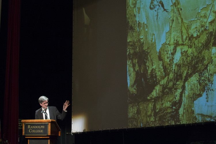 "Sir Nicholas Penny presents the public lecture ""The Natural Arch and the Concealed Mask."""