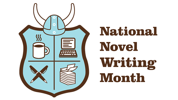 Novel Writing Month logo