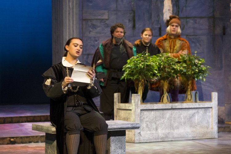 Randolph College's WildCat Theatre presents Twelfth Night, November 2015.