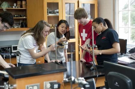 Physics students