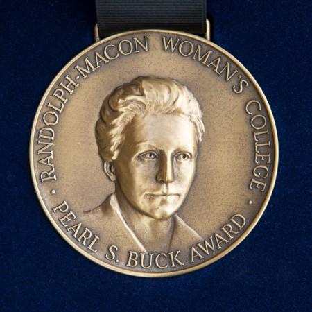 Pearl S. Buck Award medal
