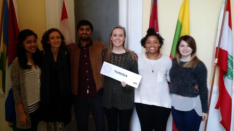 Shataaxi Joshi '19, Lauren Mason '16, Tahan Menon '16, Erica Quijano '17, Kiaorea Wright '16, and Kristiana Kuqi '18 won awards for Outstanding Position Papers.