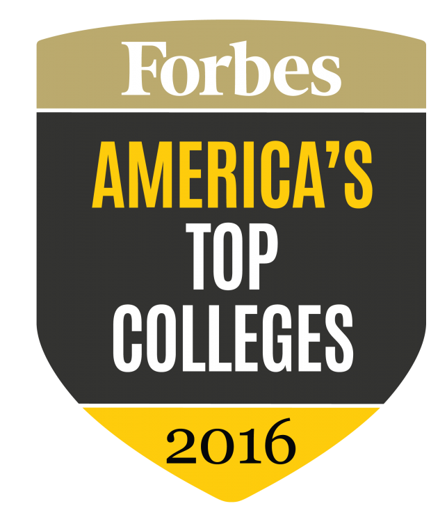 Forbes top colleges logo