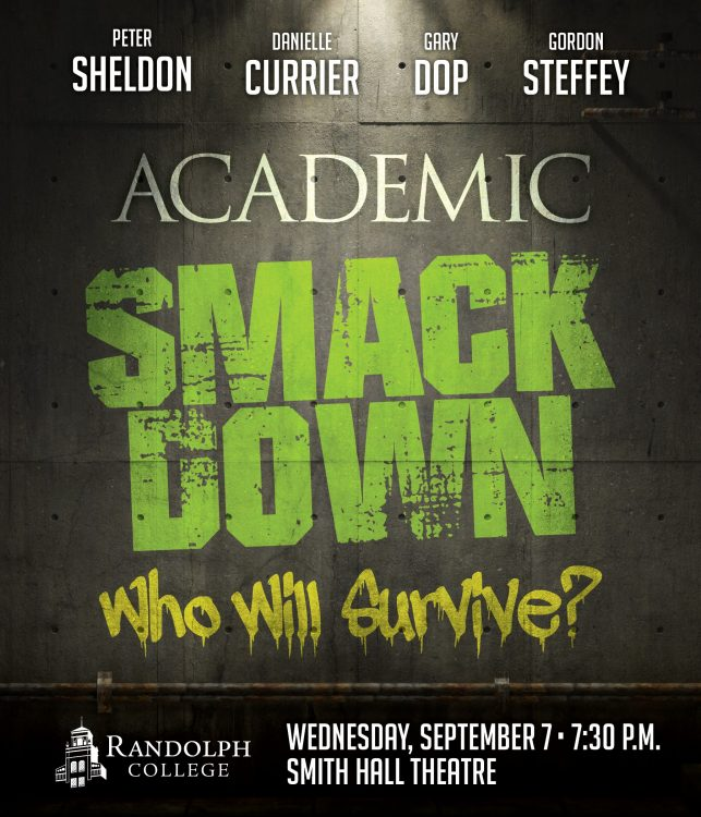 Academic Smack Down poster