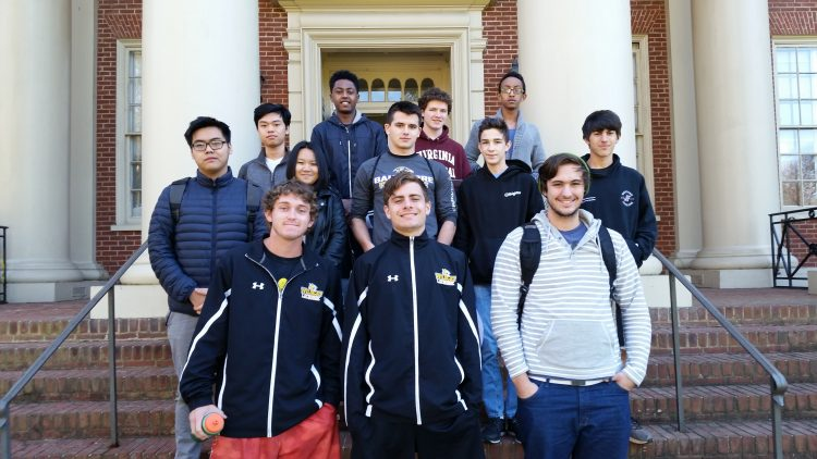 The following students participated in the VTRMC: Ryan Campbell '17, Charles Chaffin '20, John Coffron '20, Austin Collier '19, Nhut Dang '18, Kaleb Gebrekirstos '20, Linh Nguyen Ly '20, Yuriy Snyder '19, Graham Southwick '18, Stephen Stimac '18, Beakal Tilikswe '20, Anh Vo '18, Zach Baugher (Virginia Episcopal School), Camden Levinson (Jefferson Forrest and The Central Virginia Governor's School), and Carson Wood (E.C. Glass and The Central Virginia Governor's School).
