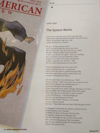Gary Dop's poem in the North American Review