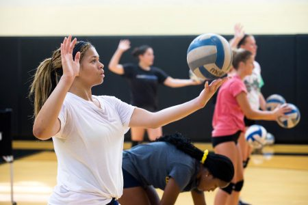 Volleyball Overnight Advanced Skills Camp