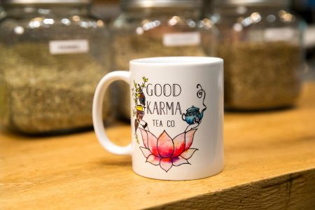 This summer, Good Karma Tea Company moved into a new location on Norfolk Avenue, right across the street from Randolph.