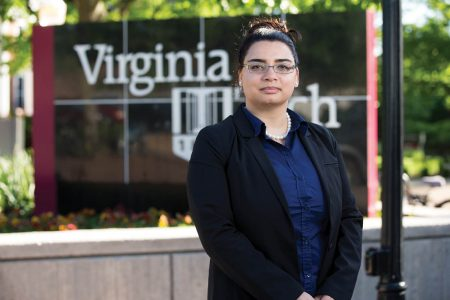 Marwa Abdel Latif '09 earned a Ph.D. from Virginia Tech this spring and now holds several positions in its Macromolecules Innovation Institute.