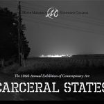 Poster for the Carceral States exhibit