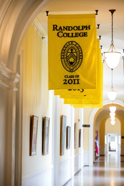 Class of 2011 banner in Main Hall