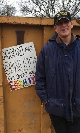 Brad Bullock, professor of sociology, Randolph College