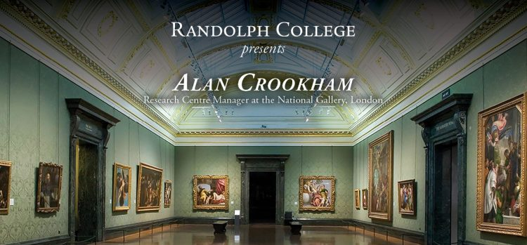 Graphic for National Gallery Speaker Alan Crookham