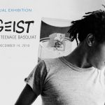 Poster for the exhibition, Zeitgeist: The Art Scene of Teenage Basquiat (photo credit: Alexis Adler)