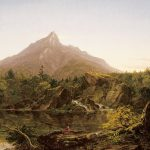 Thomas Cole, Corway Peak, New Hampshire, 1844, oil on canvas.