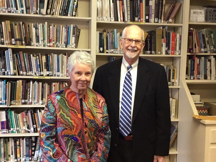 Margie Roberts Johnson and her husband John