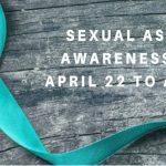 Sexual Assault Awareness Week logo