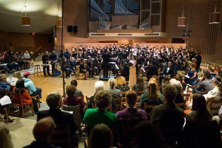 The Spring Concert in Houston Memorial Chapel in 2015