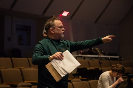 Jim Warren, co-founder of the American Shakespeare Center, served as director of Randolph's production.