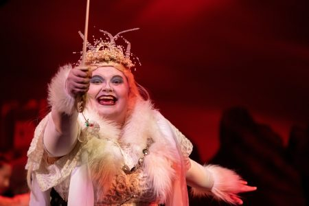 Alumna Marianne Virnelson portrayed the White Witch in the production