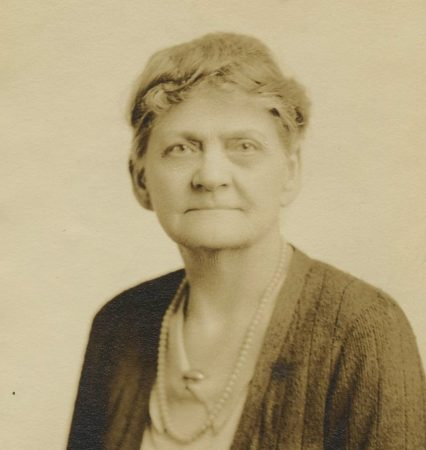 Georgia Weston Morgan (Class of 1903)