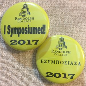 symposium buttons