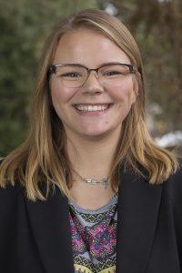 Allison Brooks, sustainability coordinator