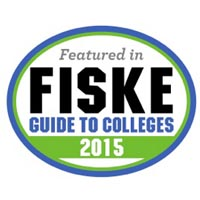 Included in the 2015 Fiske Guide to Colleges