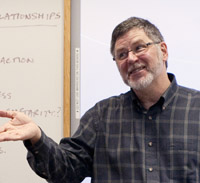 photo of professor
