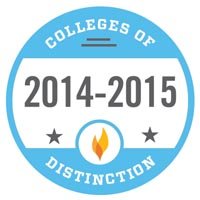 Named a 2013 College of Distinction