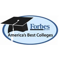 Named to Forbes America's Top Colleges 2013