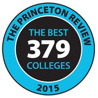 The Princeton Review Best Colleges 2014 badge
