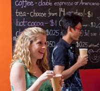 photo of student coffee shop