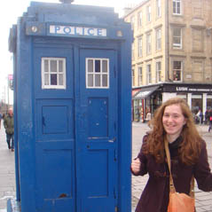 Tardis - Police call box in England